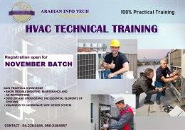 HVAC TECHNICIAN TRAINING - 5 Weeks Practical Program
